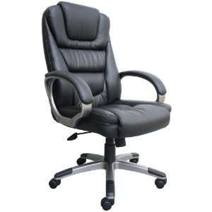Boss Black LeatherPlus Executive Chair Review
