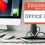 Ergonomic Mesh Backed Office Chair