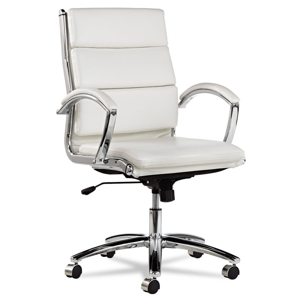 most popular white leather office chairs