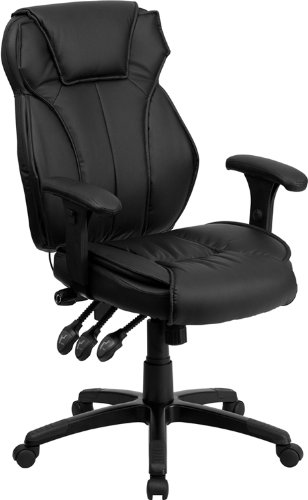 ergonomic adjustable lumbar support office chair