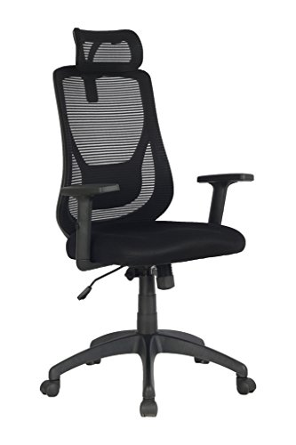 This Is The Viva Office Ergonomic High Back Mesh Executive Chair And Has A Adjule Headrest Armrest Will Prevent Body Heat
