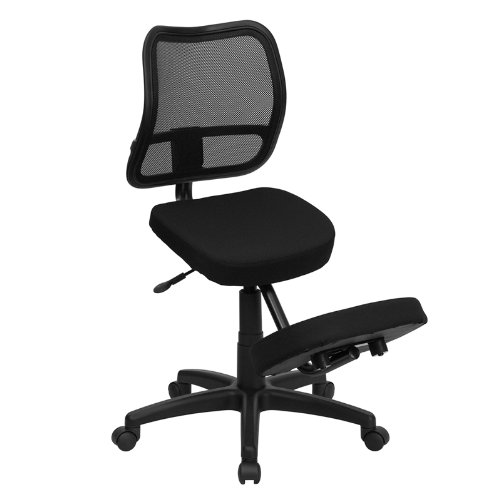 ergonomic kneeling posture office chair to reduce lower back pain