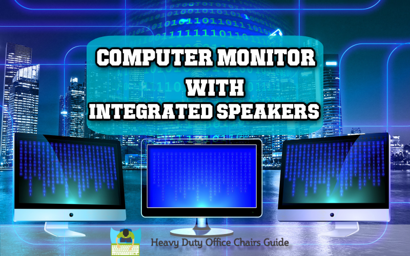 Top Quality Computer Monitor With Integrated Speakers For Your Home Office