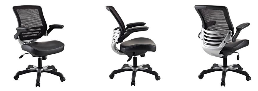 LexMod Edge Computer Chair For Short Adults