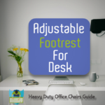 Adjustable Footrest For Desk