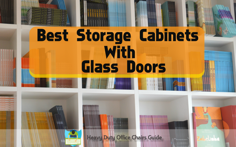 Storage Cabinets With Glass Doors