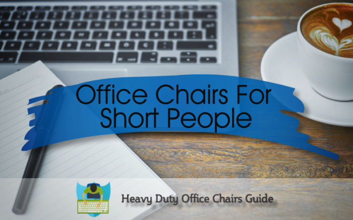 Top 5 Office Chairs For Short People : Best Petite Office Chairs For Adults