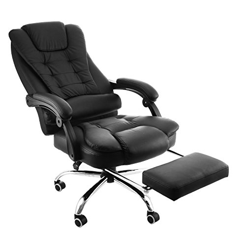 Best Reclining Office Chair With Footrest Heavy Duty
