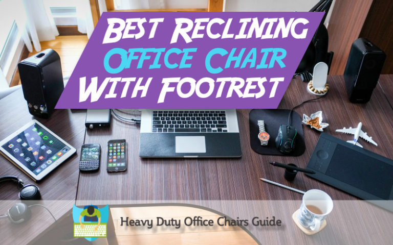 Comfortable Reclining Office Chair With Footrest