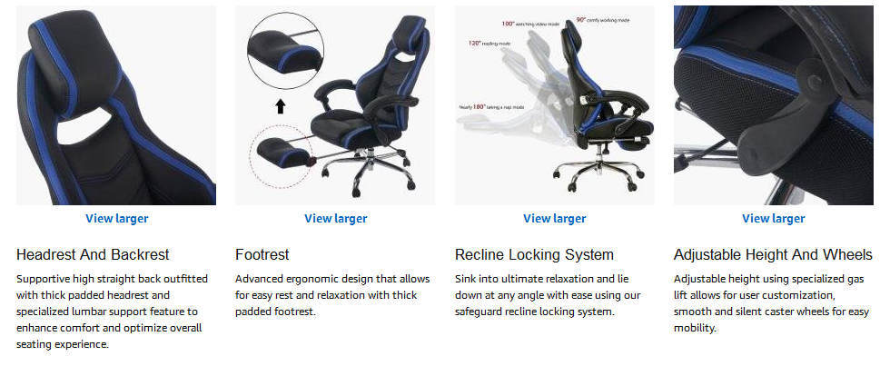Best Ergonomic Office Chair With Footrest