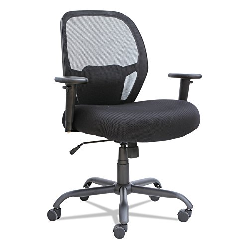 top rated mesh back office chair with lumbar support