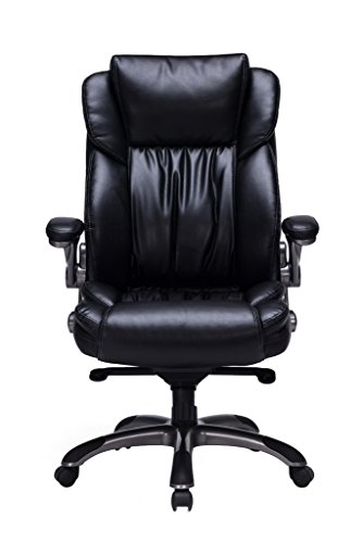 The VIVA OFFICE Bonded Leather Executive Chair Has The Best Lumbar Support  For Anyone Who Suffers From Back Pain.