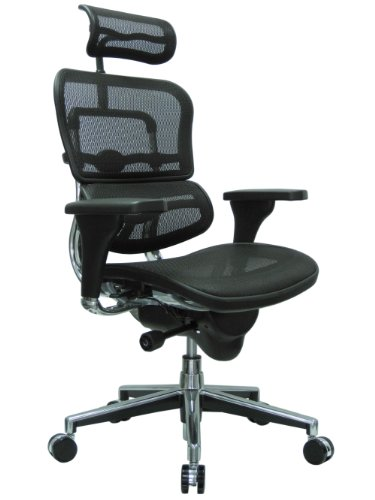 high back swivel chair with headrest
