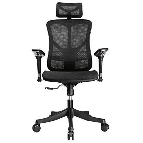 ergonomic offic chair for back and neck support