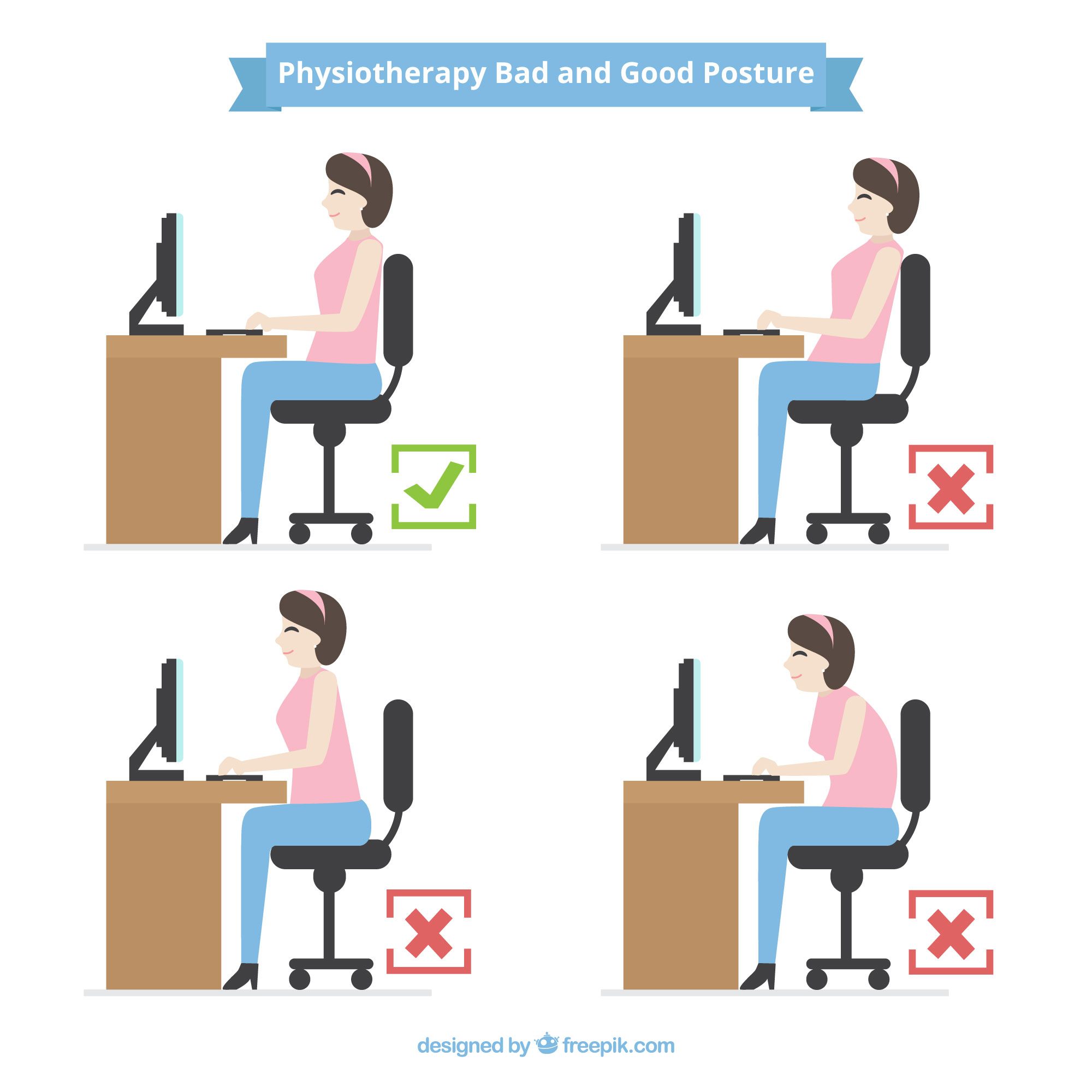 What Is Bad And Good Posture